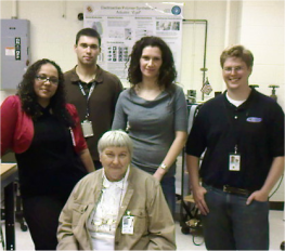 Dr. Fran Kelly and Morpheus Researchers